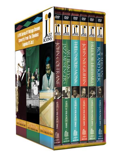 JAZZ ICONS: SERIES 5 BOX SET: John Coltrane, Thelonious ...